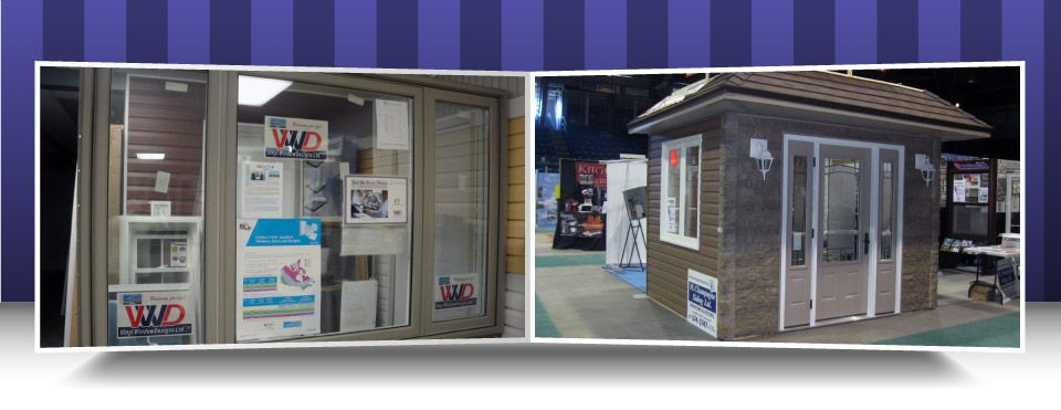 Window and door display